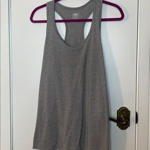 Athletic works grey racer back shirt size XL.
